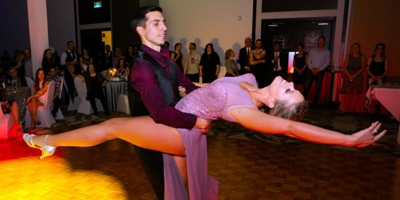Adam and Ashley of Lakeside Dance